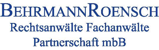 Rechtsanwälte Fachanwälte Behrmann Roensch Bamberg